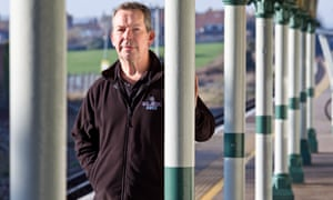 Alasdair Fortune, the president of Seaford's chamber of commerce, says traders have been hit by the industrial action.