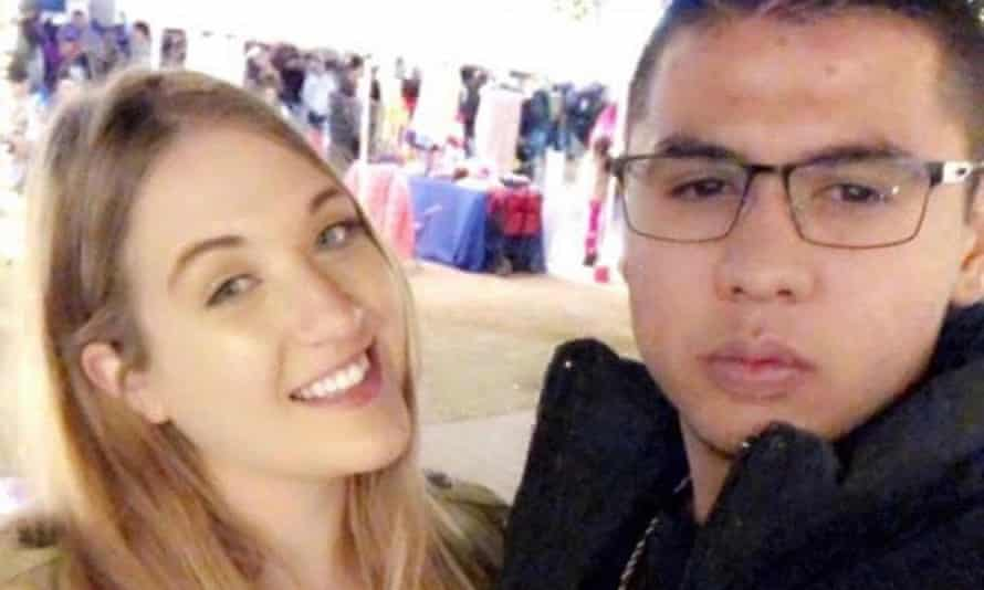 Jordan Anchondo and her husband, Andre, who both died in the El Paso shooting.