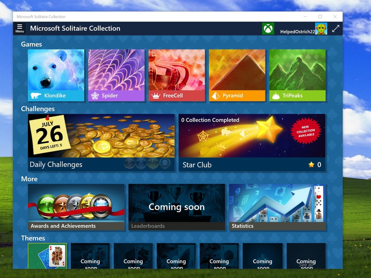 How Can I Play My Old Windows 7 Games In Windows 10 Computing The Guardian