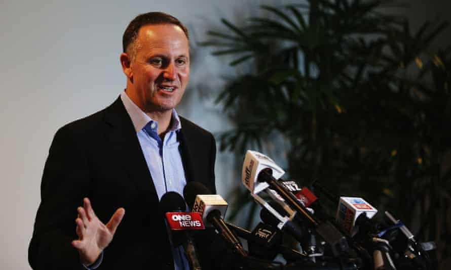 The National party, led by John Key, has been in government since 2008.