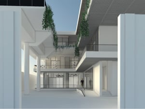 Yinka Shonibare's proposed Guest Artists Space (G.A.S) Foundation.