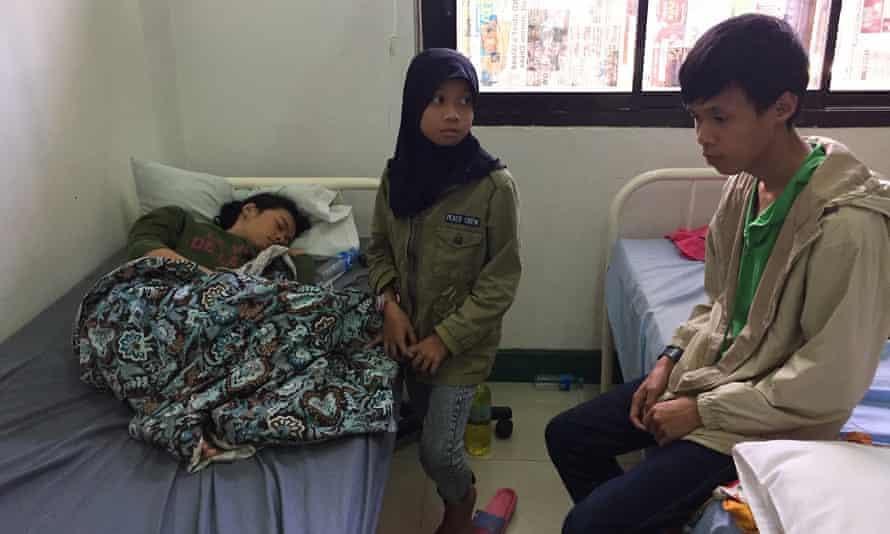Siblings Jamielah, Amaliah and Amar