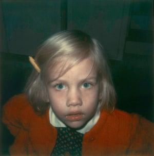 Leila Ross Hill, 1973 Polaroid