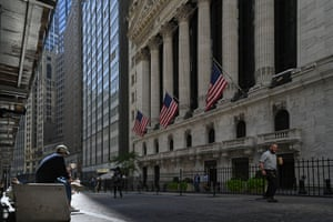 The New York Stock Exchange (NYSE) on Wall Street this month.