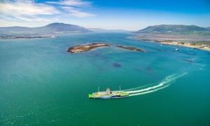 The new Carlingford ferry.
