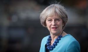 Theresa May, pictured last week, is under pressure from left and right on Europe.
