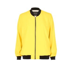 Bomber jacket, £40, riverisland.com