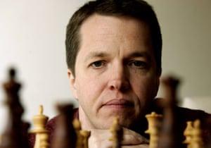 British chess grandmaster Nigel Short.