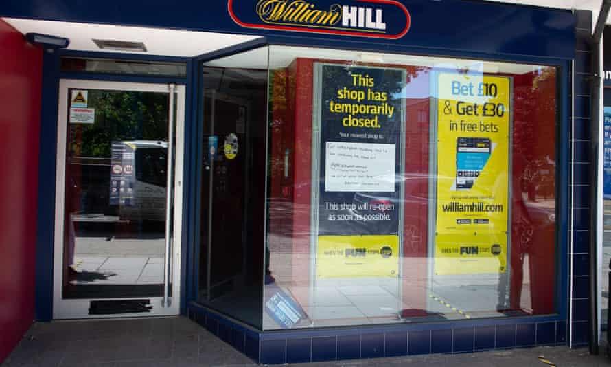 Closed William Hill shop in Ascot