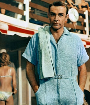 Sean Connery in 1964's Goldfinger