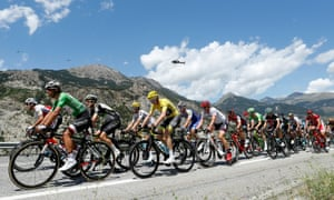 The 18th stage of the 2017 Tour de France.