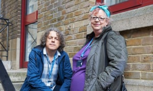 Alan Davies and Jo Brand in Damned.