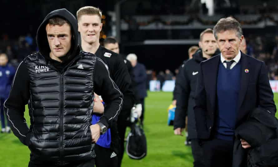 Jamie Vardy has admitted that Claude Puel's conservative approach is not helping his struggle for goals.