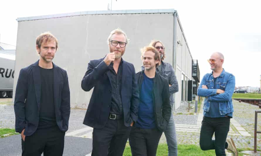 the national outside a rehearsal studio in copenhagen