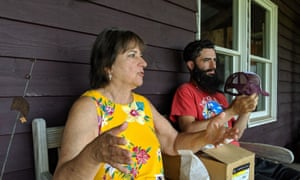 Jeryl Abramson, here with her son Zack, plans to host an event called The Reunion which, she says, is a truer invocation of the Woodstock spirit.