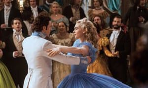 Banned in the Knightley household … Disney's 2015 remake of Cinderella.