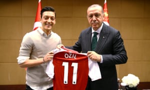 During recent national friendlies, Mesut Özil and Ilkay Gündoğan were booed by German fans because of their meeting with Turkish president, Recep Tayyip Erdoğan.
