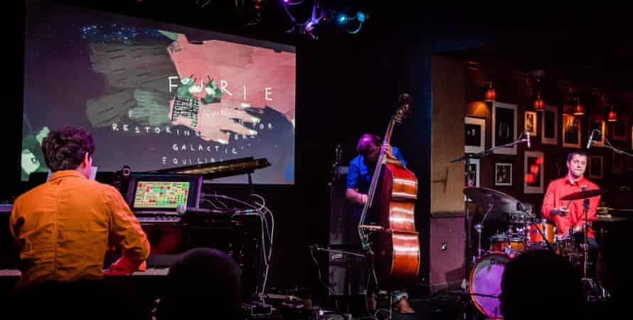 'These are skilled jazz musicians who can improvise within any straitjacket imposed by an audience' ... Tin Men and the Telephone at Ronnie Scott's.