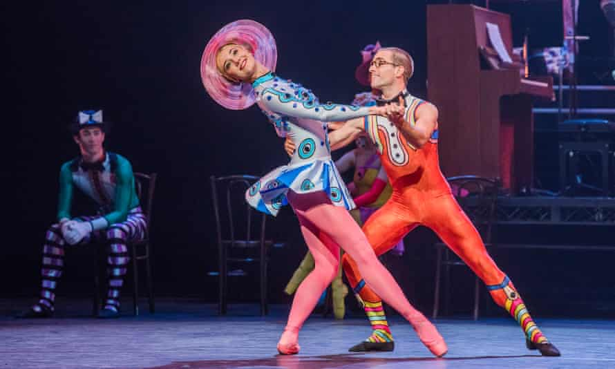 Marge Hendrick and Constant Vigier in Elite Syncopations.