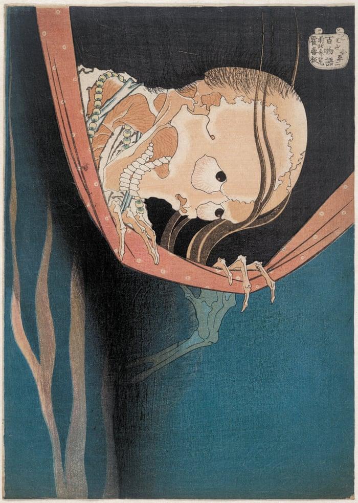 Hokusais Kohada Koheiji The Age Old Pastime Of Telling Ghost