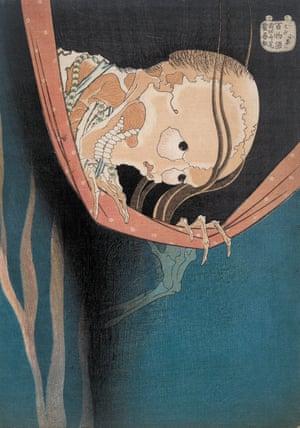 Kohada Koheiji from One Hundred Ghost Tales