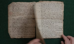 The manuscript was discovered in a tin trunk full of uncatalogued scraps.