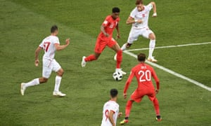 Marcus Rashford caused problems in Tunisia's defence when he came off the England bench.