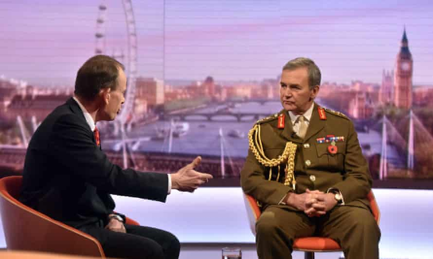 The Andrew Marr Show,  General Sir Nicholas Houghton