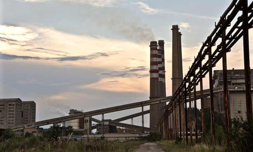 Kosovo A power station 5km outside Pristina. One of Europe's oldest power plants and one of its greatest single sources of pollution. Kosovo's ambitions to join the EU depend on industry like this to be shut down.