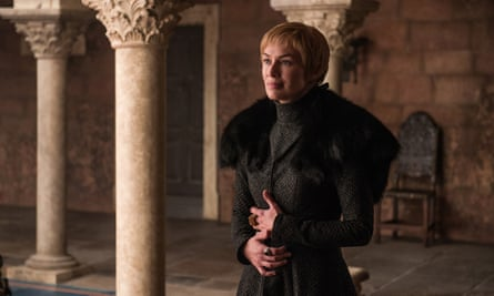 Lena Headey as Cersei Lannister in series seven of Game of Thrones.