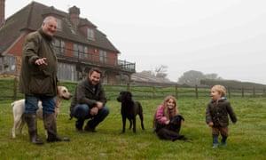 Ben Van Praagh and family