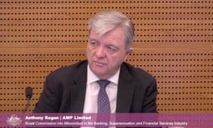 AMP's head of financial advice, Anthony Regan