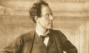 Mahler in the foyer of the Vienna Court Opera, where he was director until 1907.