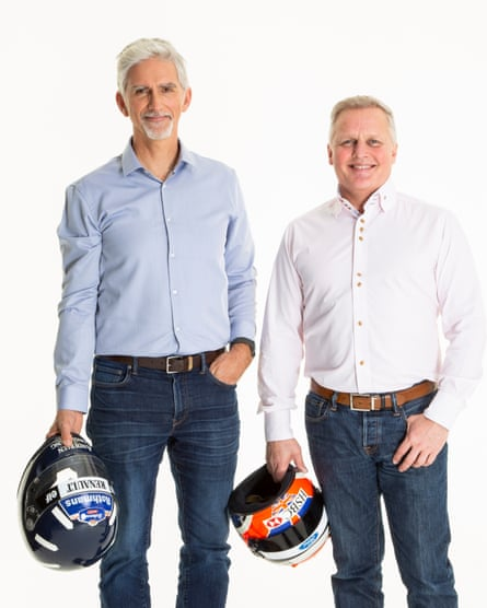 Damon Hill and Johnny Herbert.