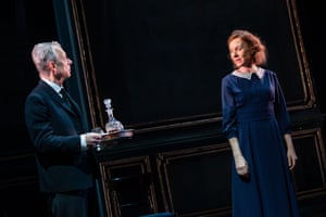 Stephen Boxer and Niamh Cusack in The Remains of the Day.