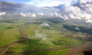 Halvergate Marshes in Norfolk