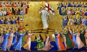 Christ Glorified in the Court of Heaven (1423), probably by Fra Angelico.