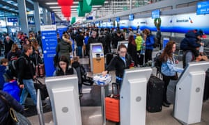 Sunday could be the busiest day for air travel in US history, airlines say.