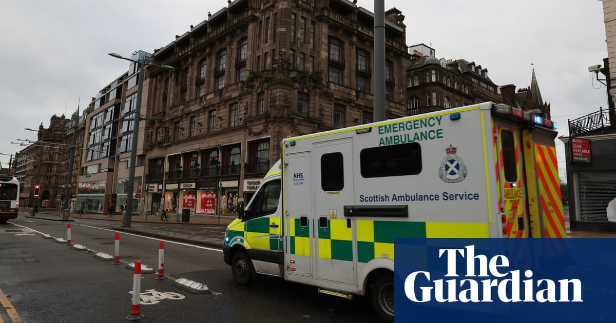 Troops drafted in to help out Scottish ambulance service