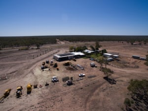 Sommariva station, a cattle and olive business outside Charleville, Queensland.