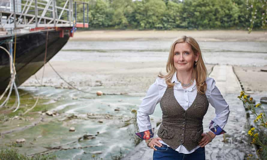 Cressida Cowell, author of the How to Train Your Dragon series.