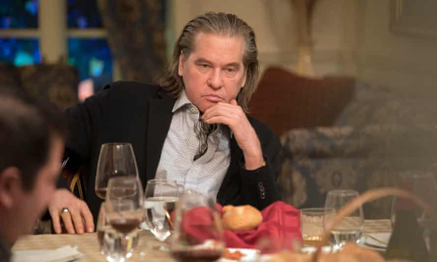 Call my agent … Val Kilmer as a crime boss in The Birthday Cake.