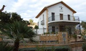 Casa Museo Gabriel Miró overlooks the main square in Polop de la Marina