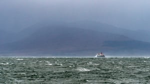 The ferry to Mull, Scotland, 31 October