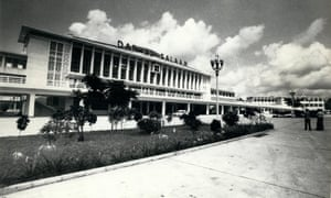 The Chinese-built Tazara train station in Dar Es Salaam in 1970. Nearly half a century later the grandeur of the vast main hall is decidedly faded.