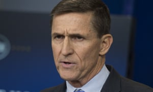 General Mike Flynn has left his post as Donald Trump's national security adviser.