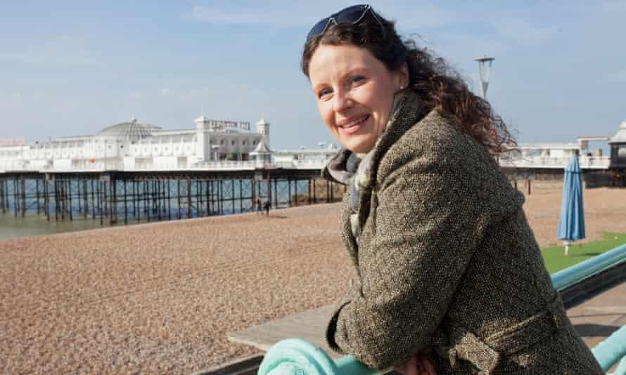 Denise Preis at her home in Saltdean, Brighton