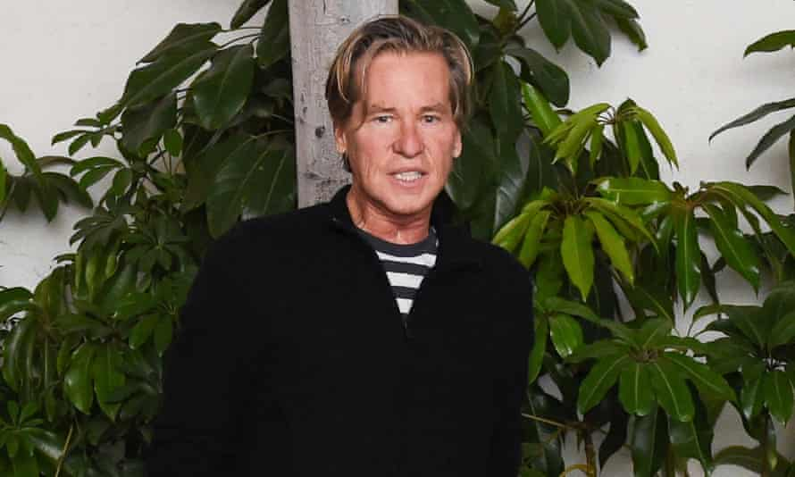 'If I'm not creating, I start to die a little' ... Val Kilmer, pictured earlier this year.