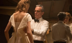 'Carried off with superb elegance' ... Vicky Krieps and Daniel Day Lewis in Phantom Thread.