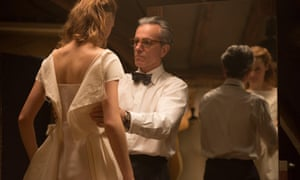 Daniel Day Lewis and Vicky Krieps in Phantom Thread.